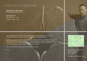 John Hall - Furniture exhibition and sale